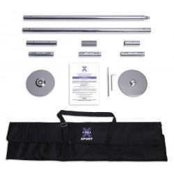 Barra X-Pole Sport - Cromada 4 cm