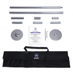 Barra X-Pole Sport - Cromada 5 cm