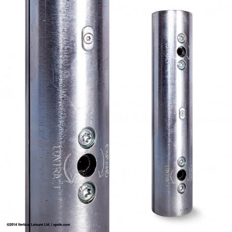 Extensión para barra de 4,5cm (Cromo)