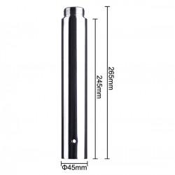 Extensión de rosca para barra de 4,5cm estática giratoria 25cm