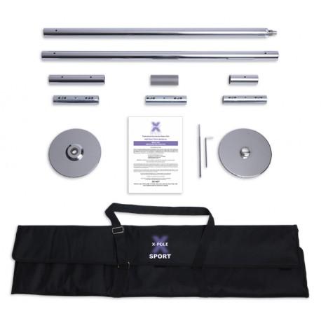 Barra X-Pole Sport - Cromada 4,5 cm